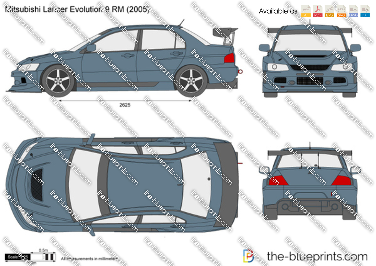 Mitsubishi Lancer Evolution 9 RM
