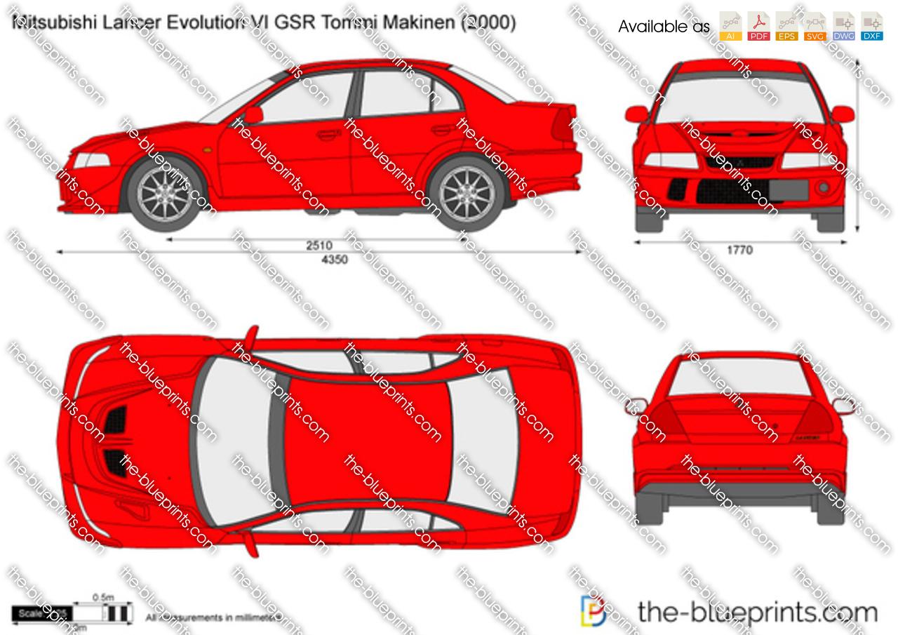 Mitsubishi Lancer Evolution VI GSR Tommi Makinen