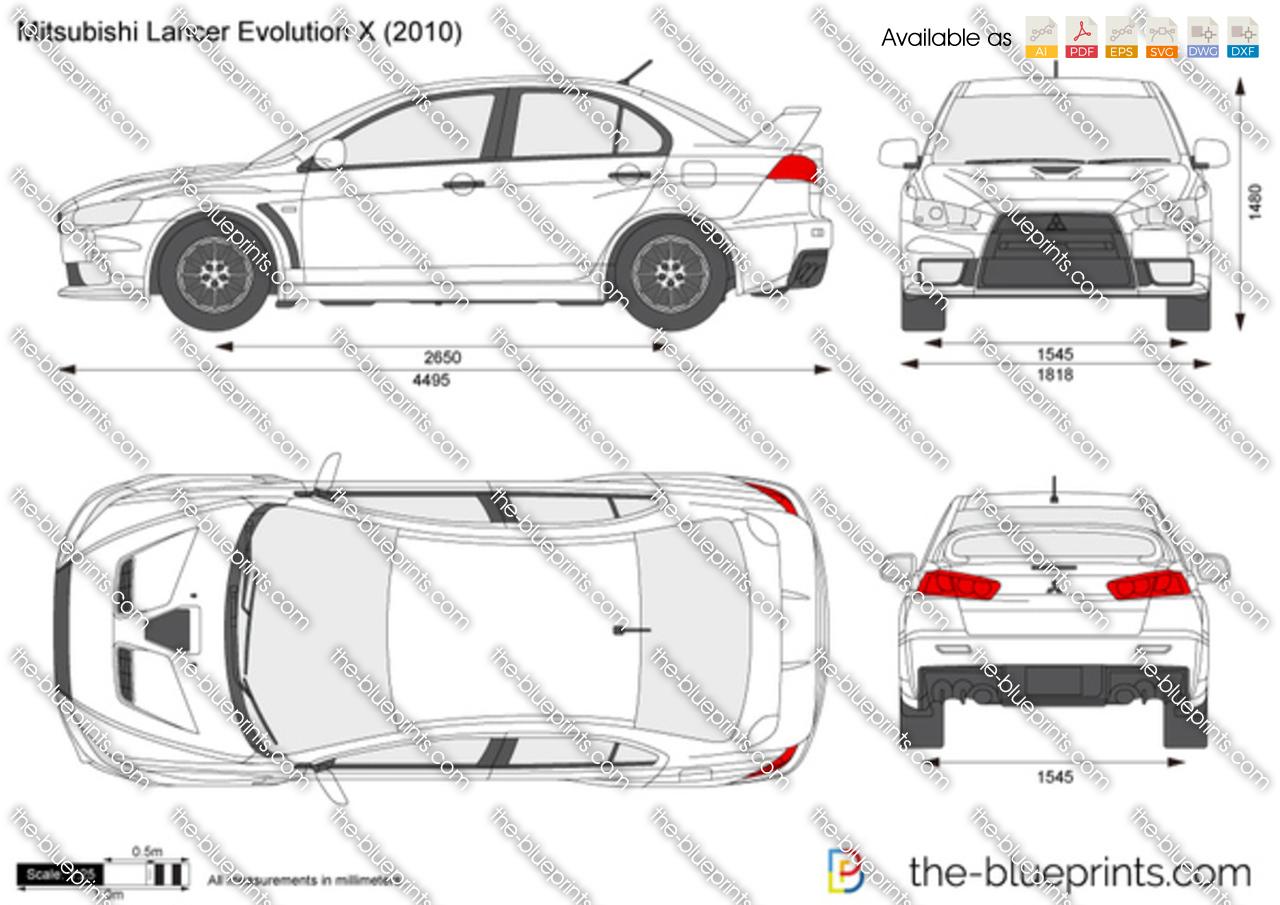 Mitsubishi Lancer Evolution X 2012