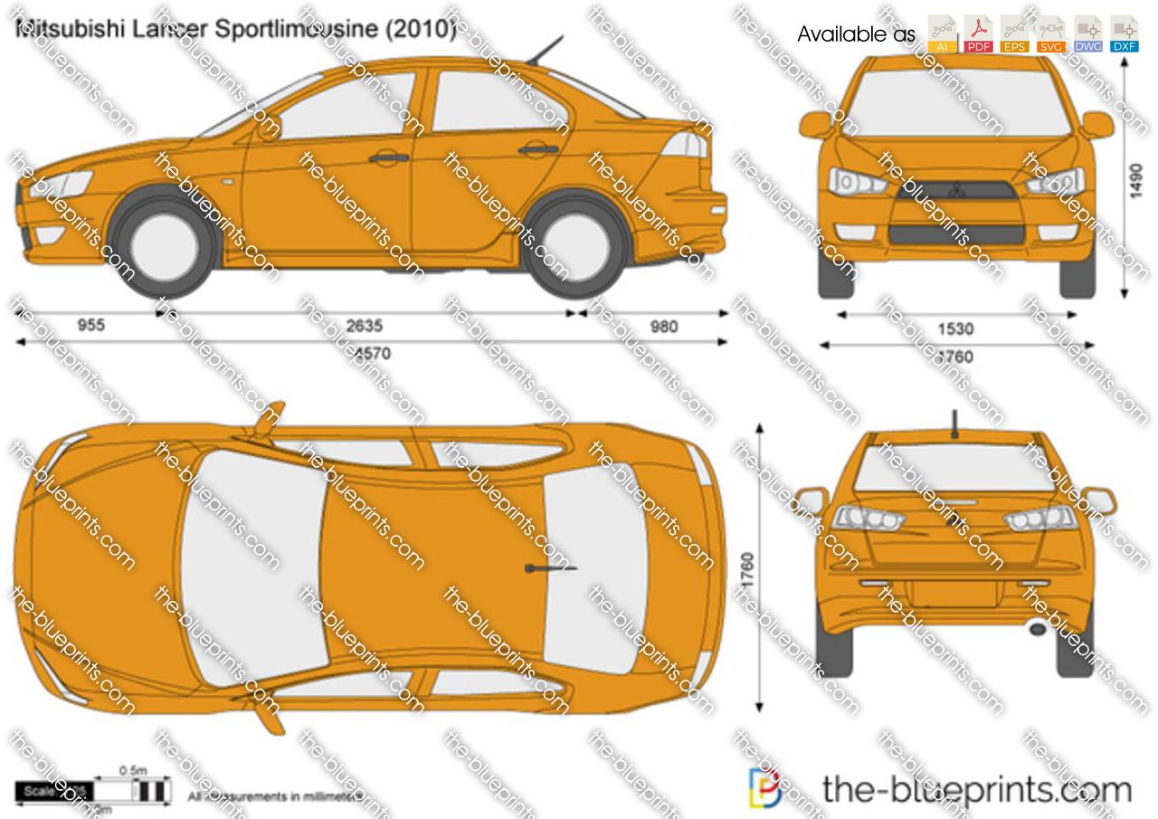 Mitsubishi Lancer Sportlimousine 2009