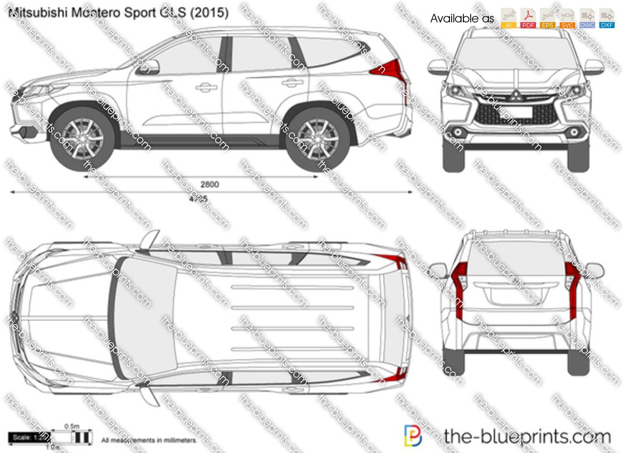 Mitsubishi Montero Sport GLS 2017