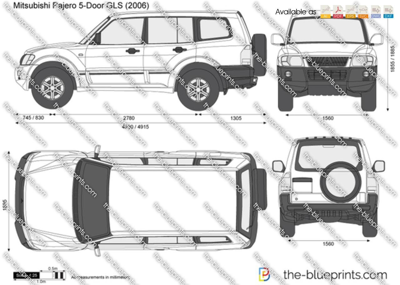 Mitsubishi Pajero 5-Door GLS