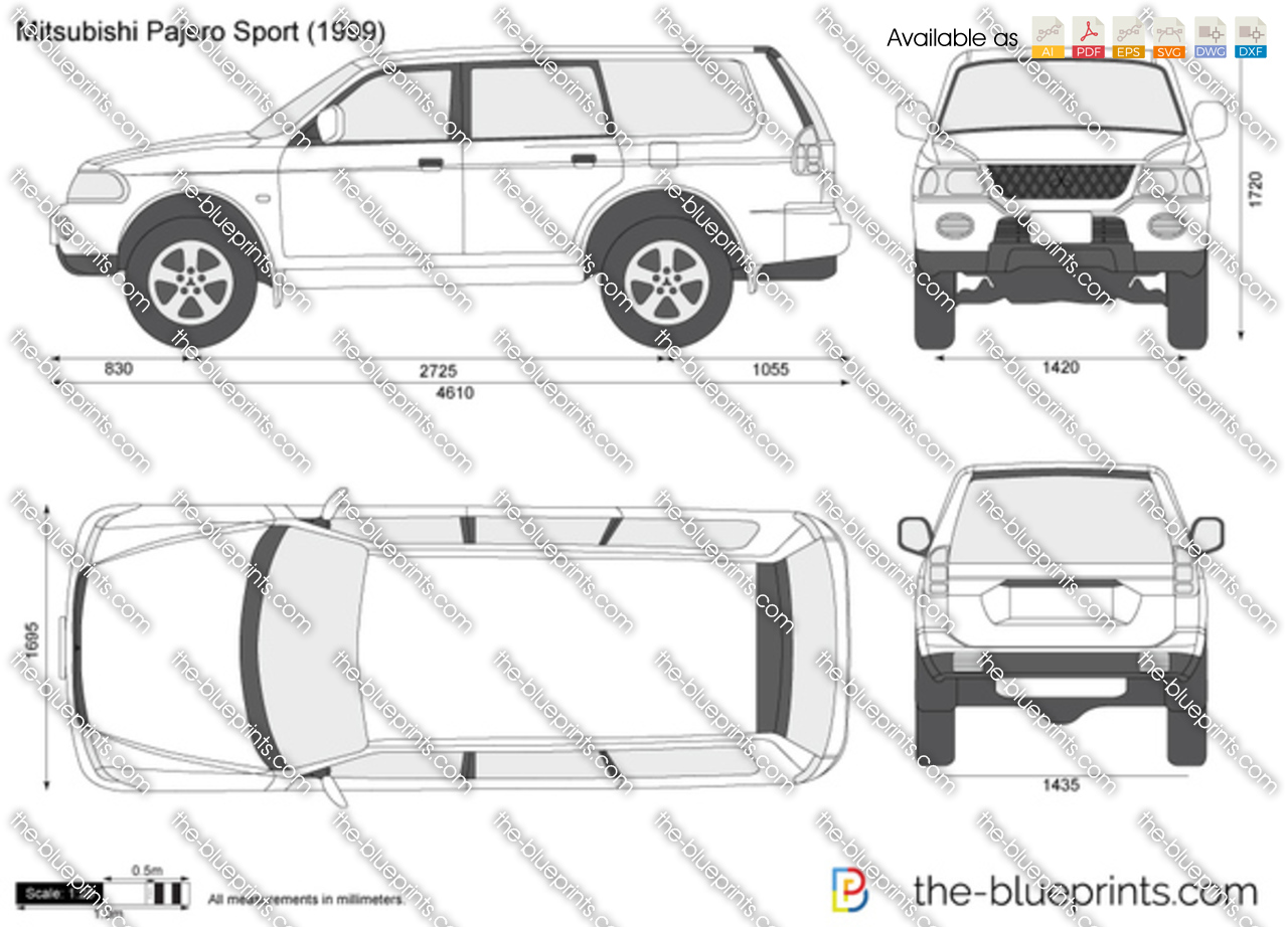 Mitsubishi Pajero Sport 1995