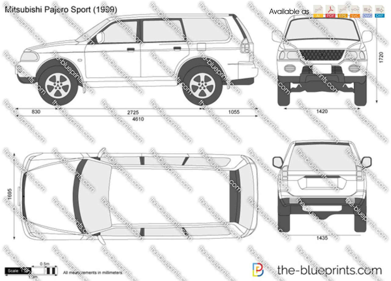 Mitsubishi Pajero Sport 1996