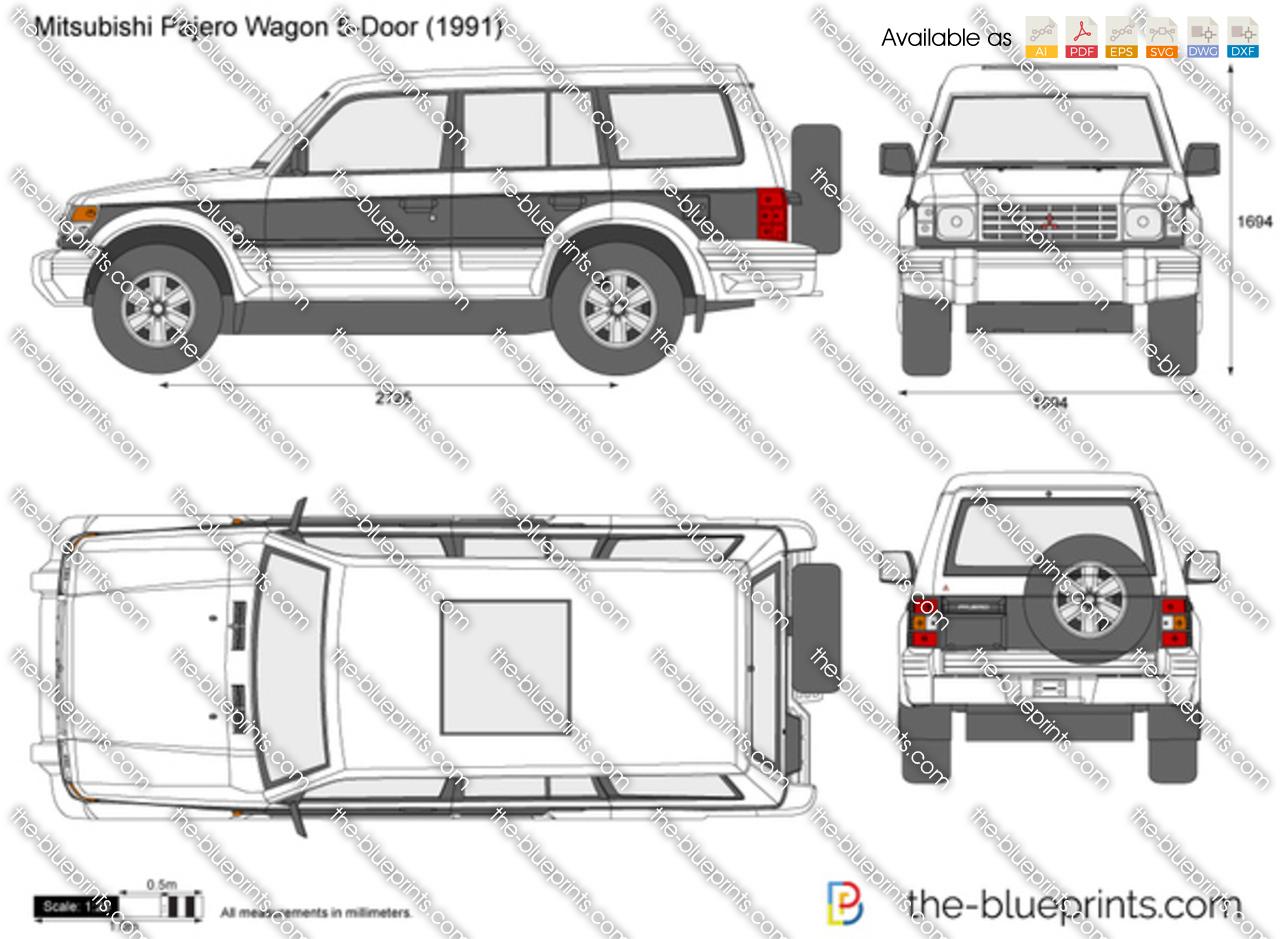 Mitsubishi Pajero Wagon 5-Door