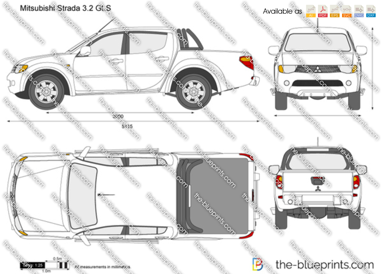 Mitsubishi Strada 3.2 GLS