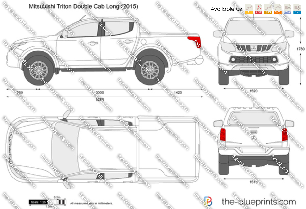 Mitsubishi Triton Double Cab Long 2017