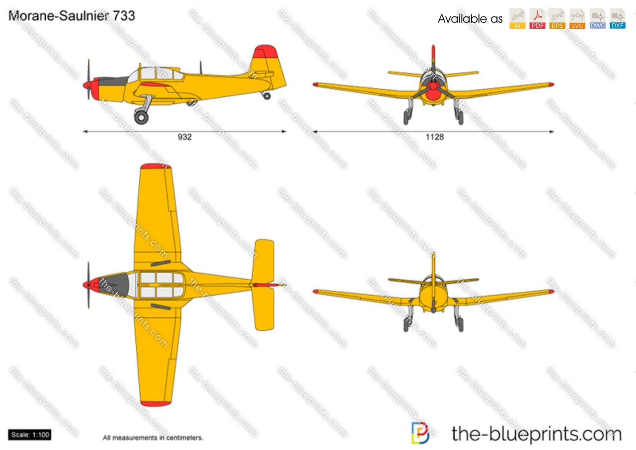 Morane-Saulnier 733