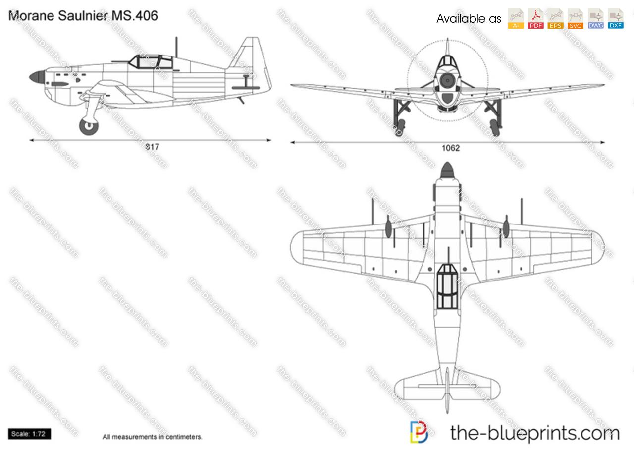Morane Saulnier MS.406