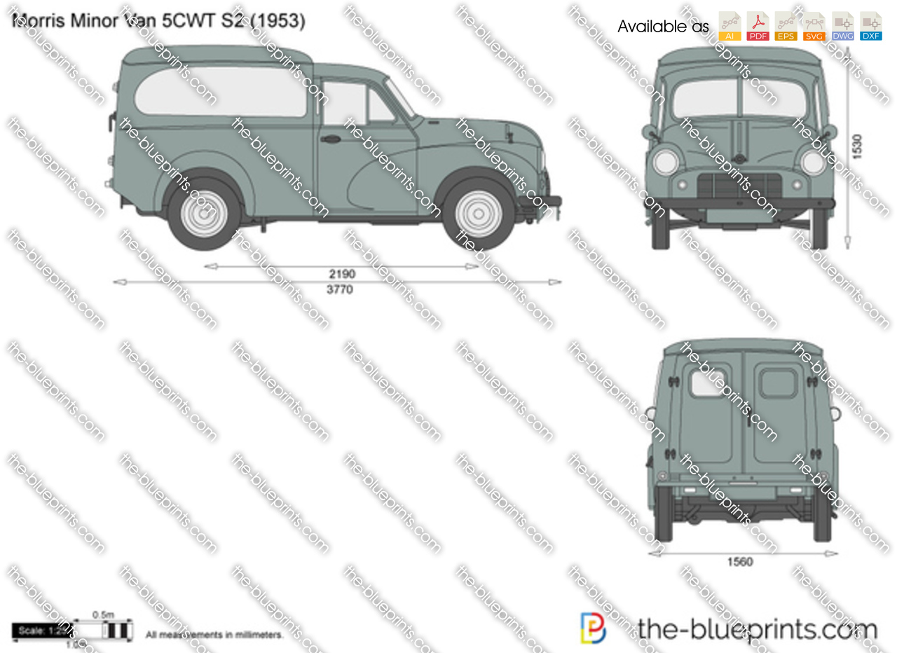 Morris Minor Van 5CWT S2