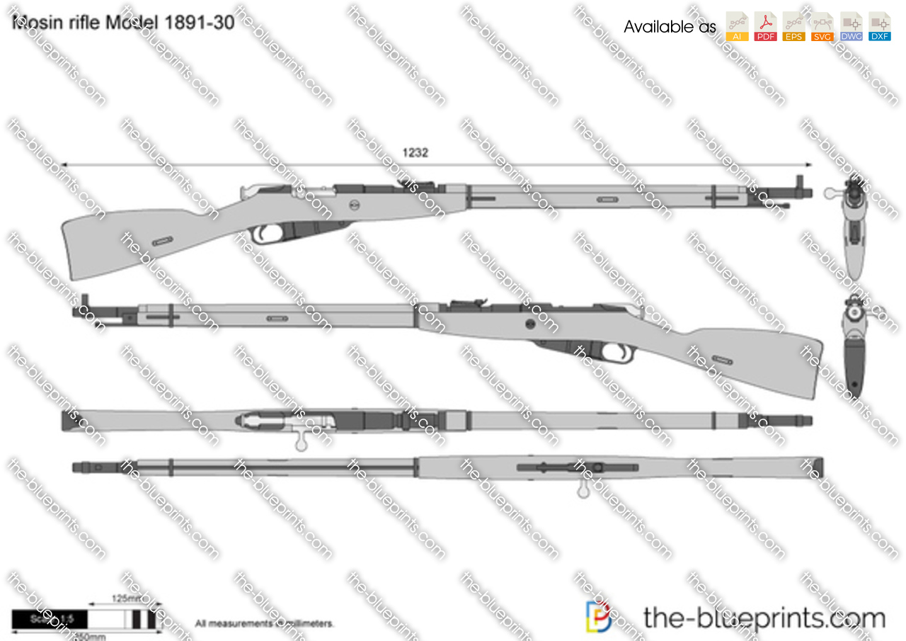 Mosin rifle Model 1891-30