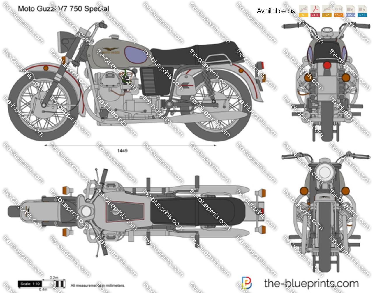 Moto Guzzi V7 750 Special 1972