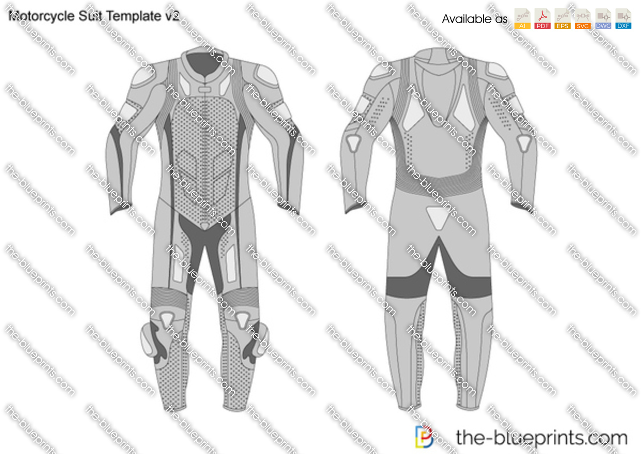 Motorcycle Suit Template v2