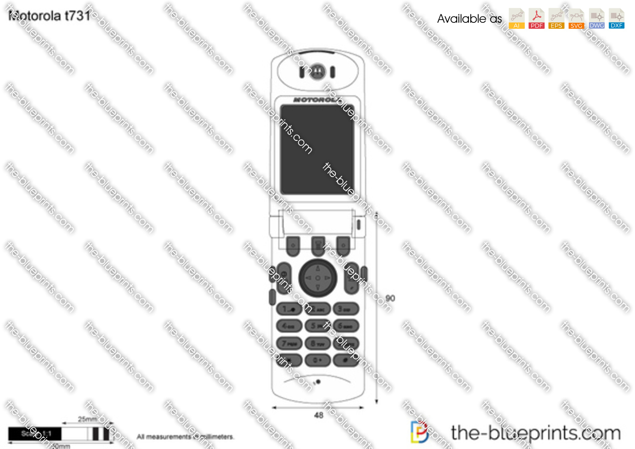 Motorola t731