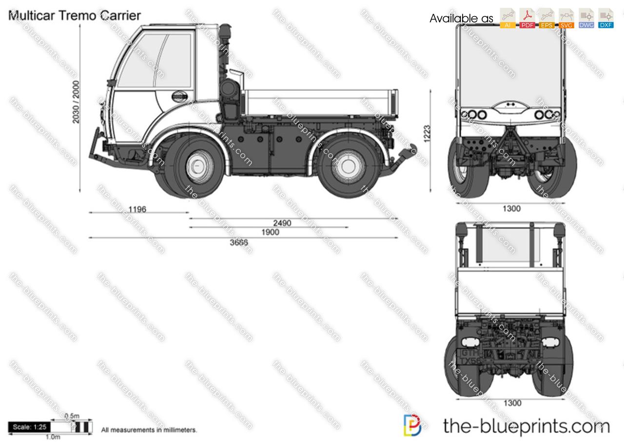 Multicar Tremo Carrier