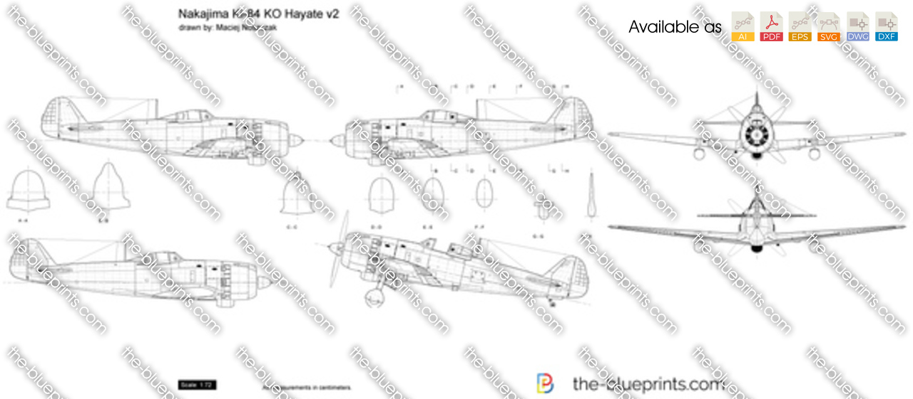 Nakajima Ki-84 KO Hayate v2