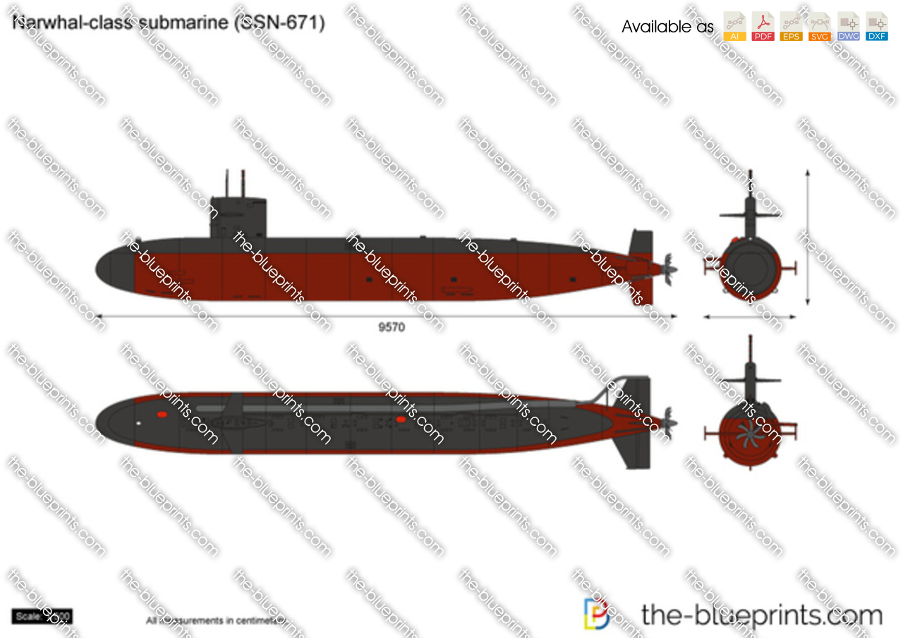 Narwhal-class submarine (SSN-671)