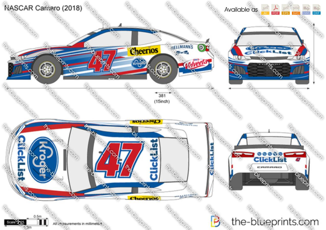 NASCAR Chevrolet Camaro ZL1