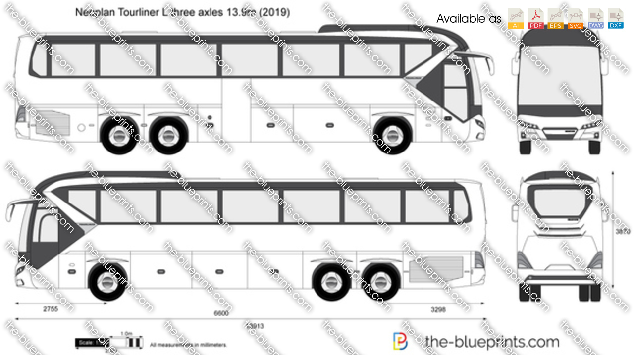 Neoplan Tourliner L three axles 13.9m