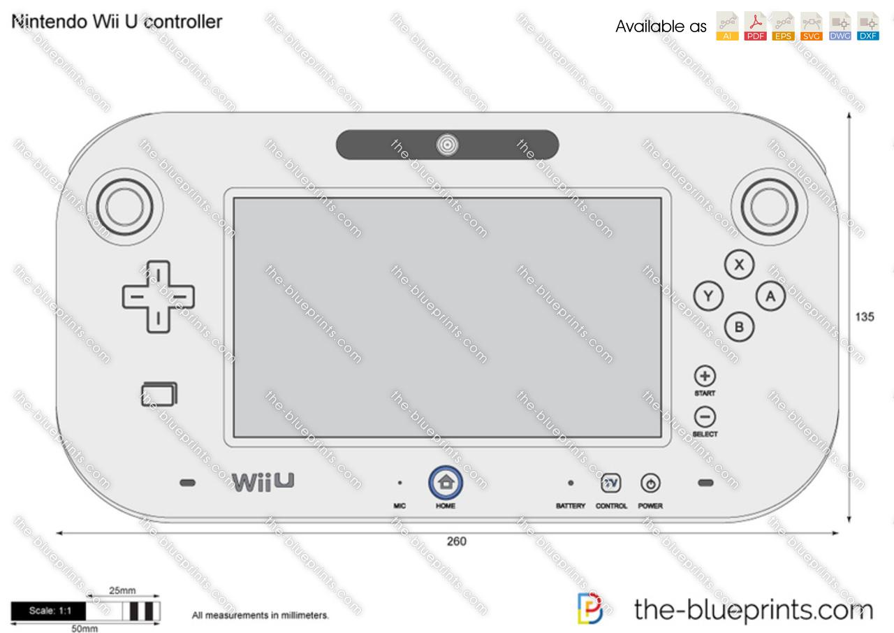 Nintendo Wii U controller