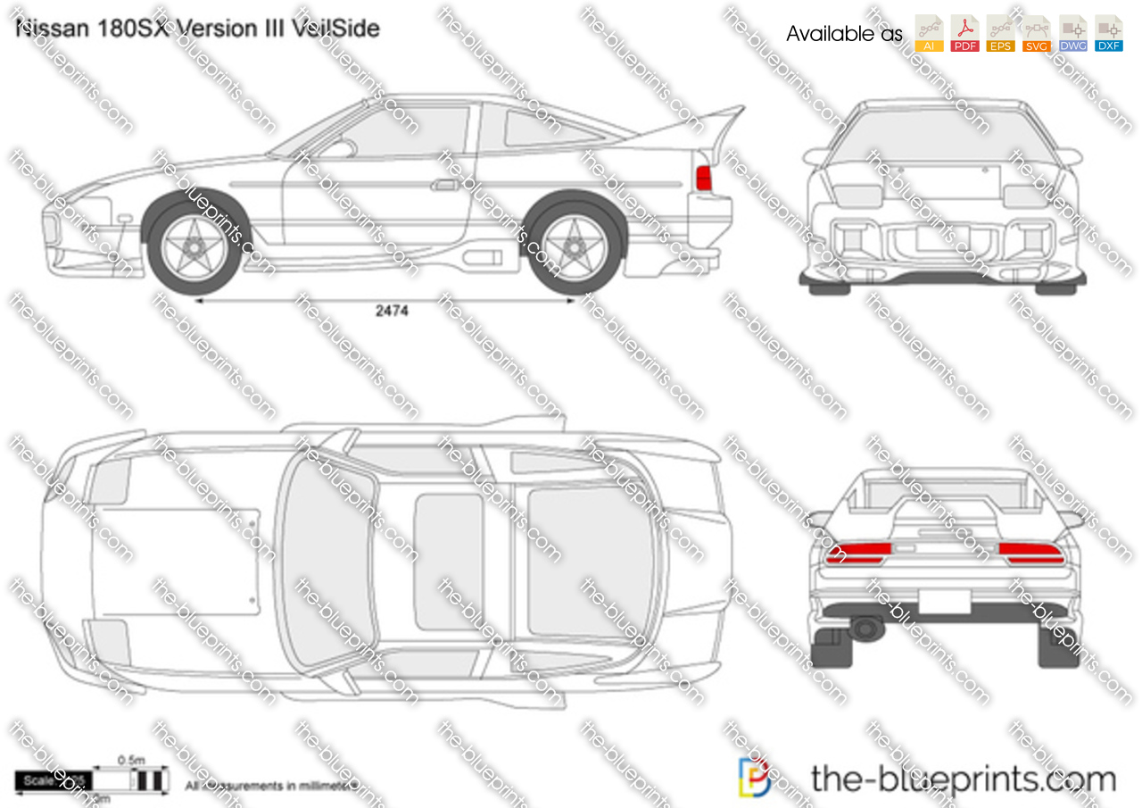 Nissan 180SX Version III VeilSide