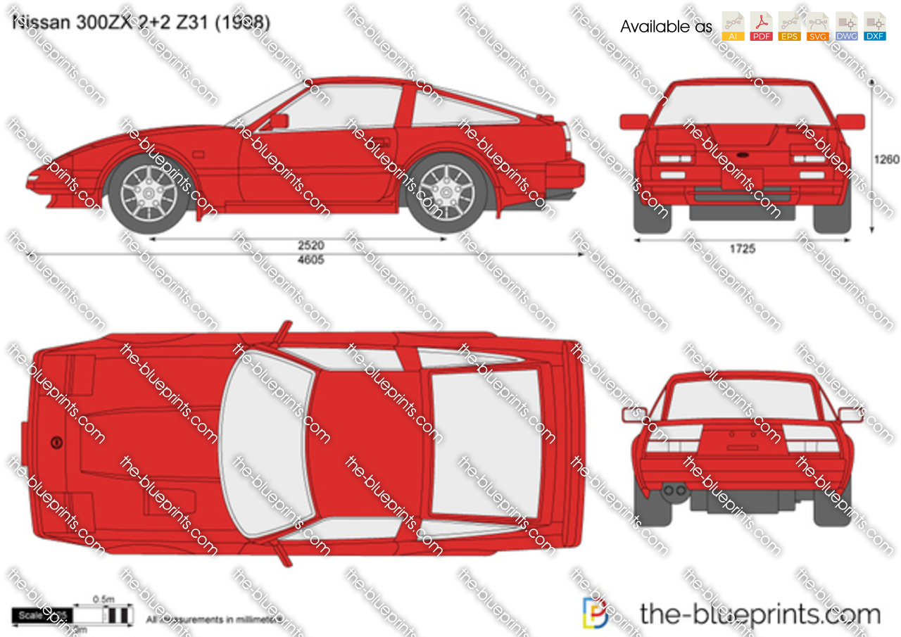 Nissan 300ZX 2+2 Z31 1989
