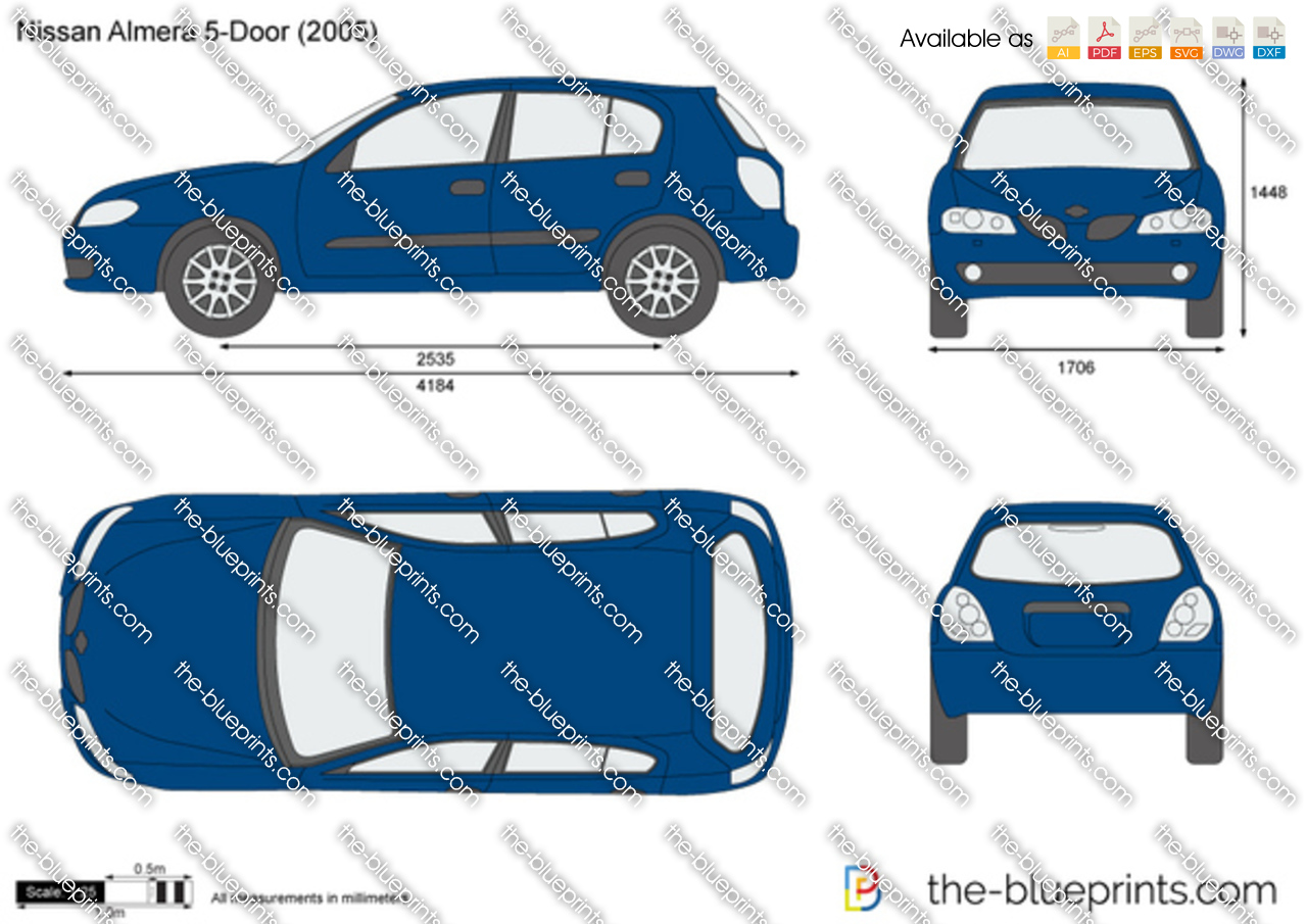 Nissan Almera 5-Door 2002