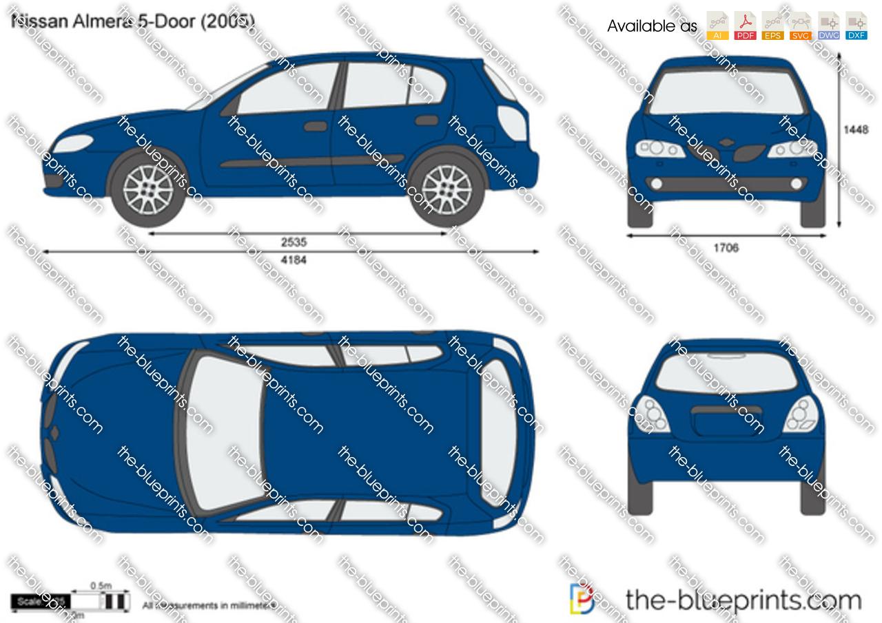 Nissan Almera 5-Door 2004