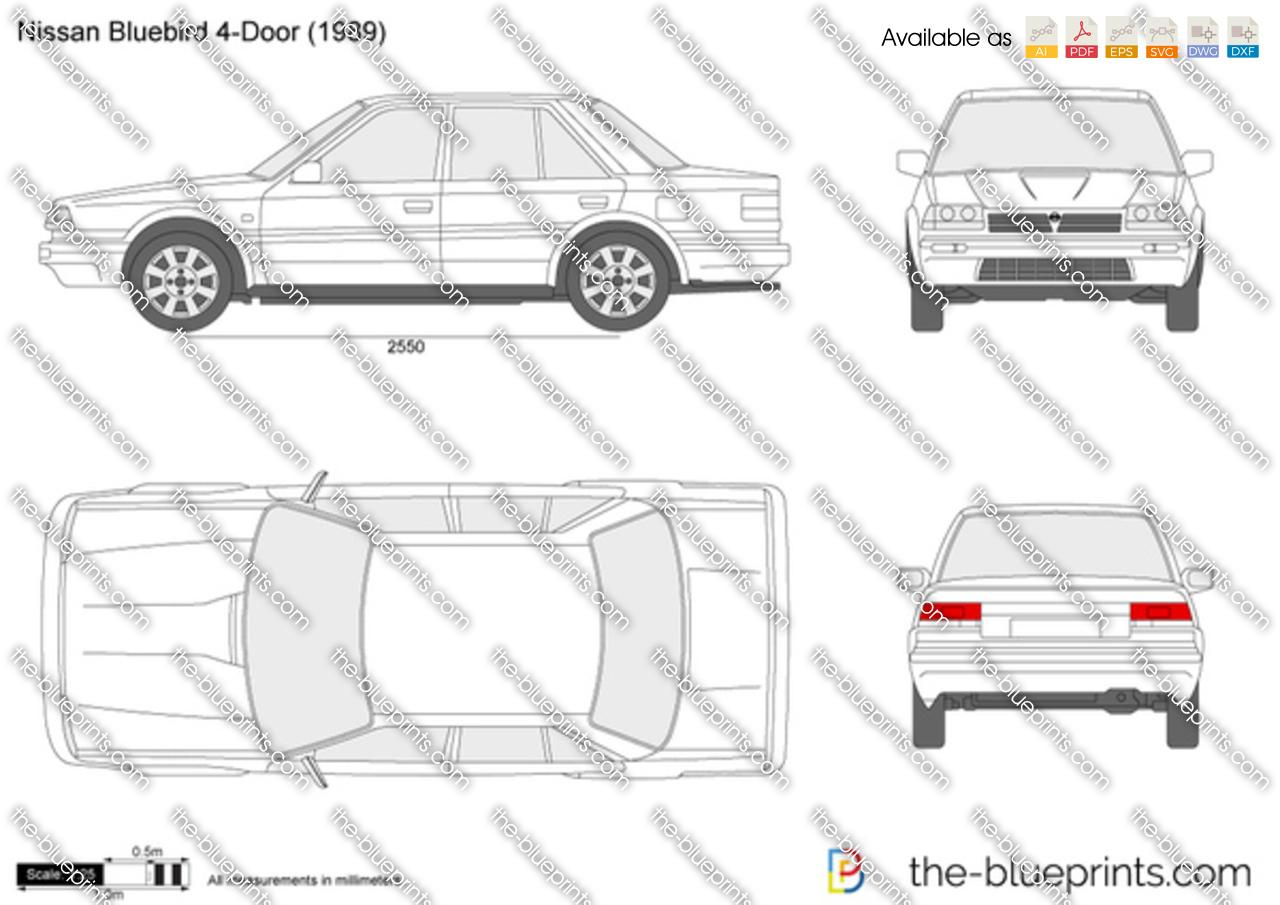 Nissan Bluebird 4-Door
