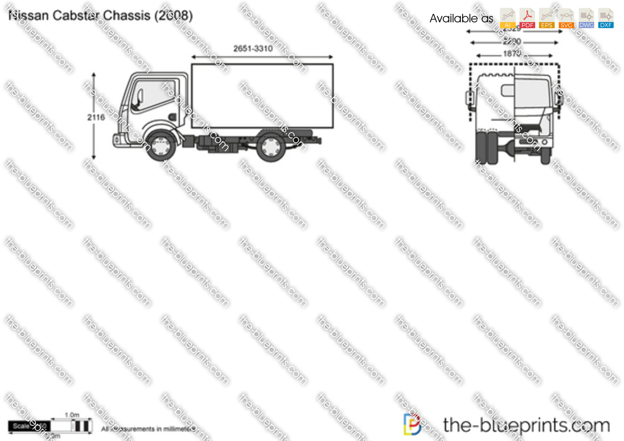 Nissan Cabstar Chassis