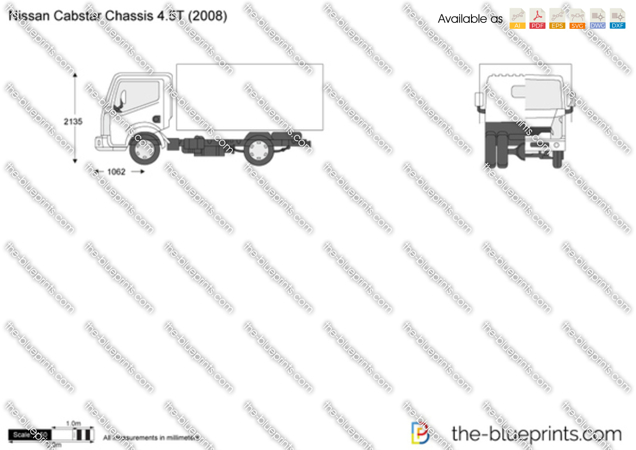 Nissan Cabstar Chassis 4.5T