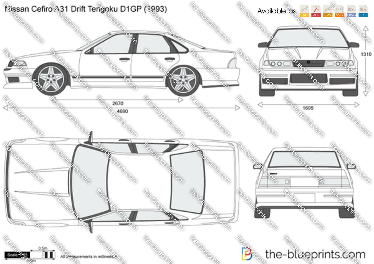 Nissan Cefiro A31 Drift Tengoku D1GP