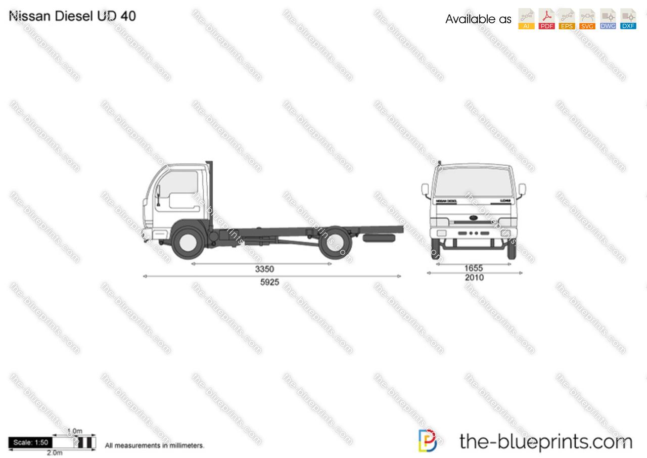 Nissan Diesel UD 40
