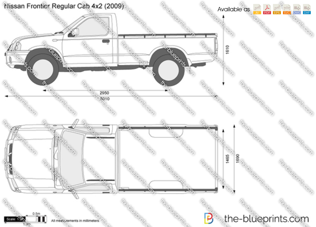 Regular Truck Bed Length Size