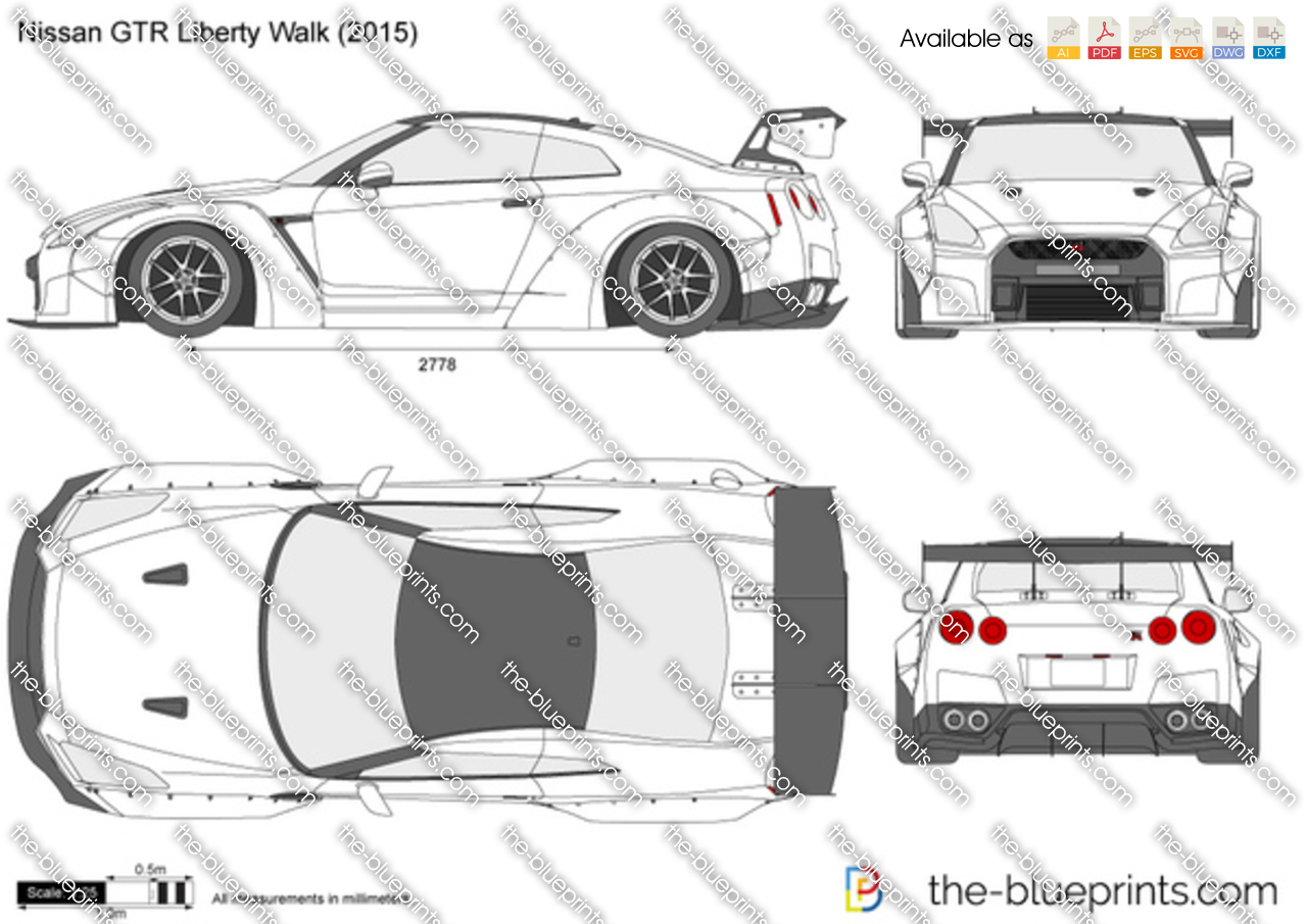 Nissan GTR Liberty Walk