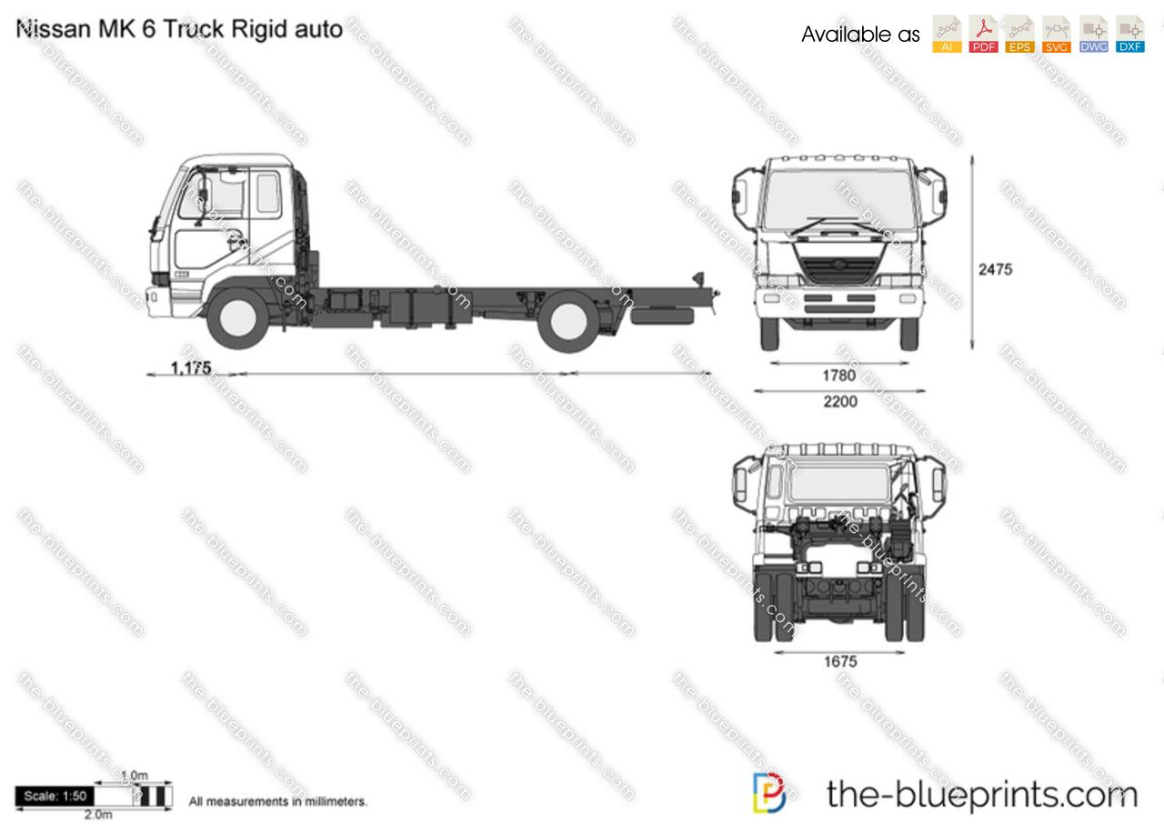 Nissan MK 6 Truck Rigid auto