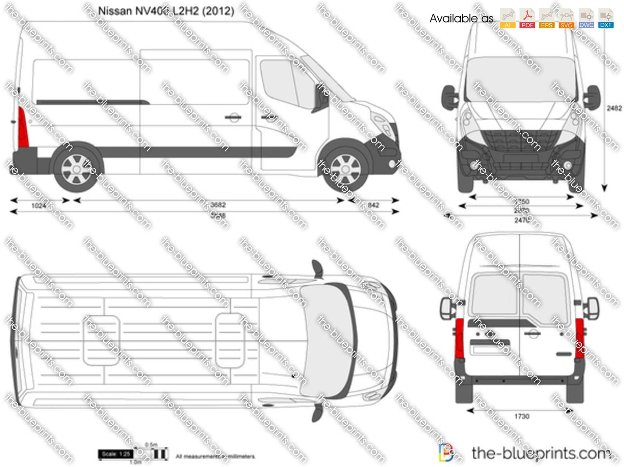 Nissan NV400 L2H2