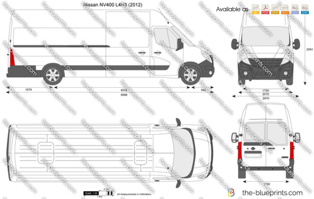Nissan NV400 L4H3
