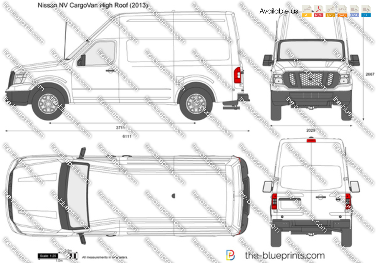Nissan NV CargoVan High Roof