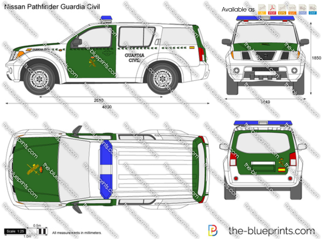 Nissan Pathfinder Guardia Civil