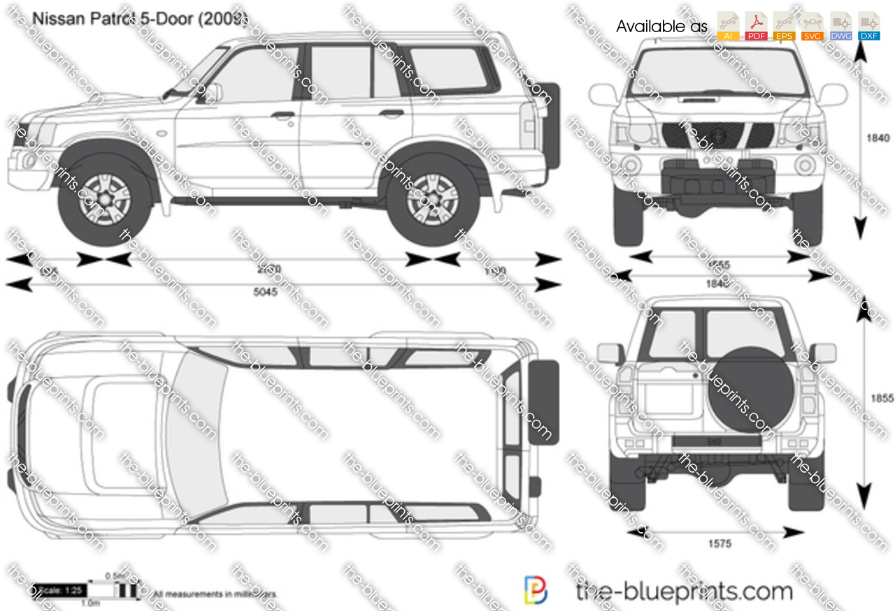 Nissan Patrol 5-Door 2015