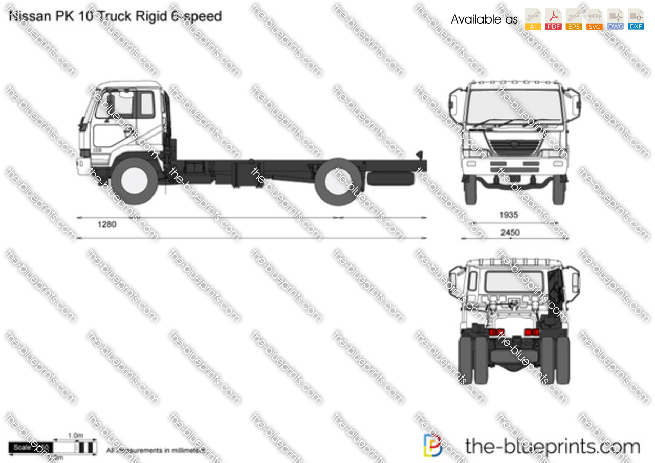 Nissan PK 10 Truck Rigid 6-speed