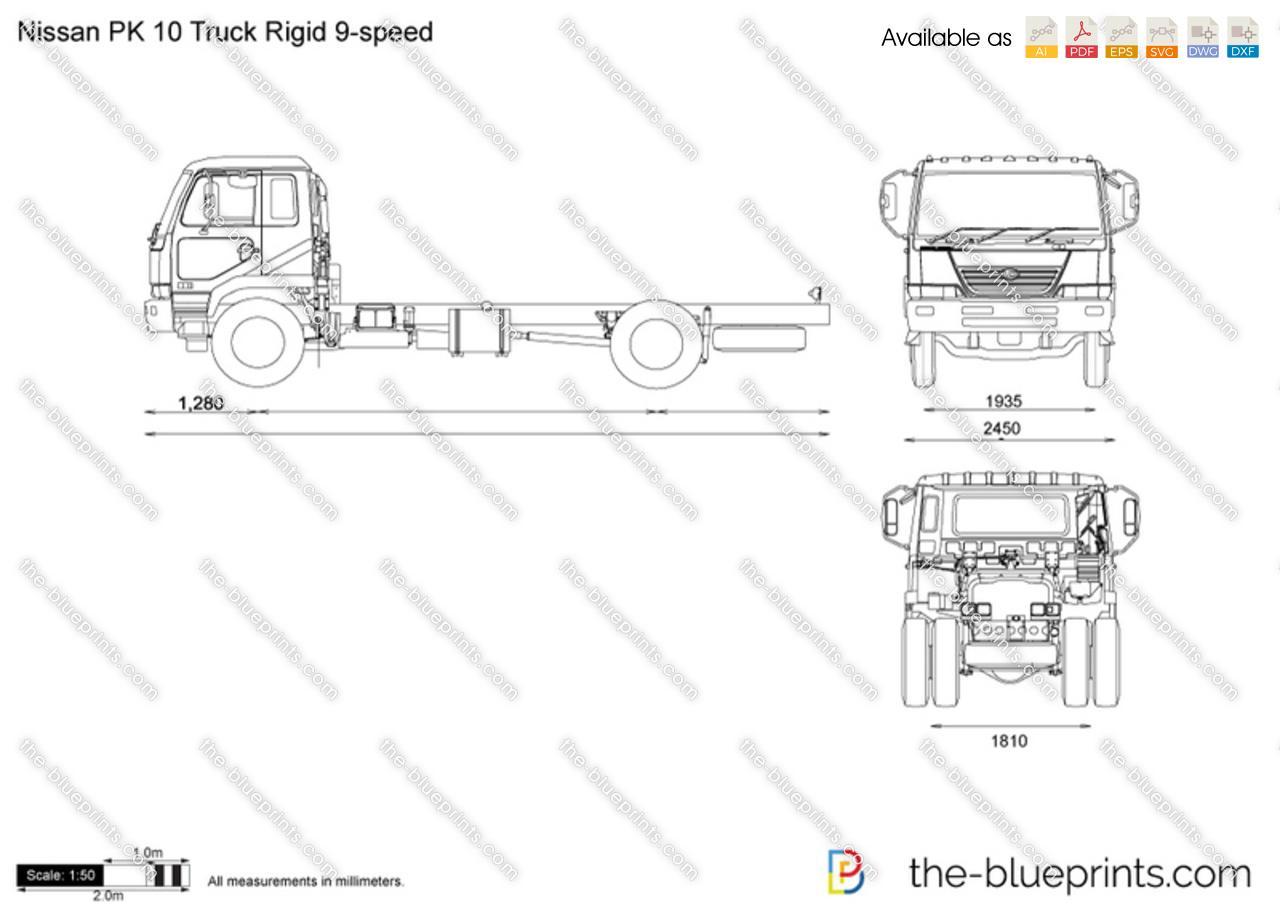 Nissan PK 10 Truck Rigid 9-speed