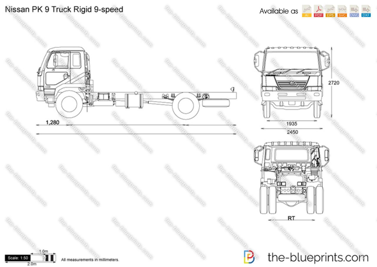 Nissan PK 9 Truck Rigid 9-speed