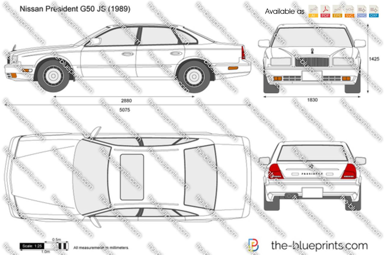 Nissan President G50 JS