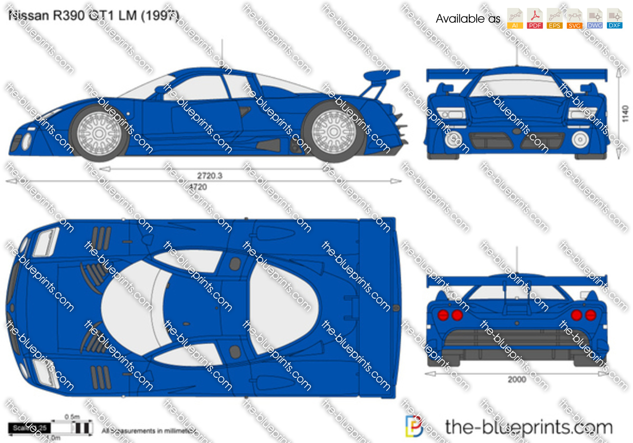 Nissan R390 GT1 LM 1998