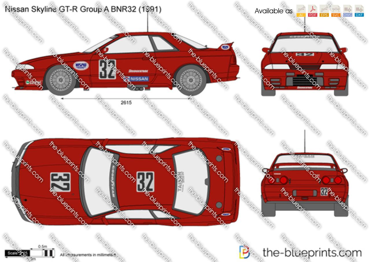 Nissan Skyline GT-R Group A BNR32