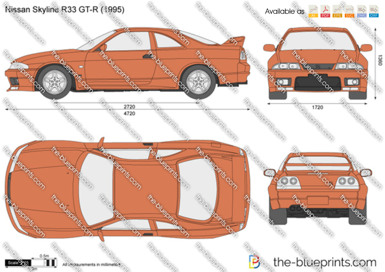 Nissan Skyline R33 GT-R 1993