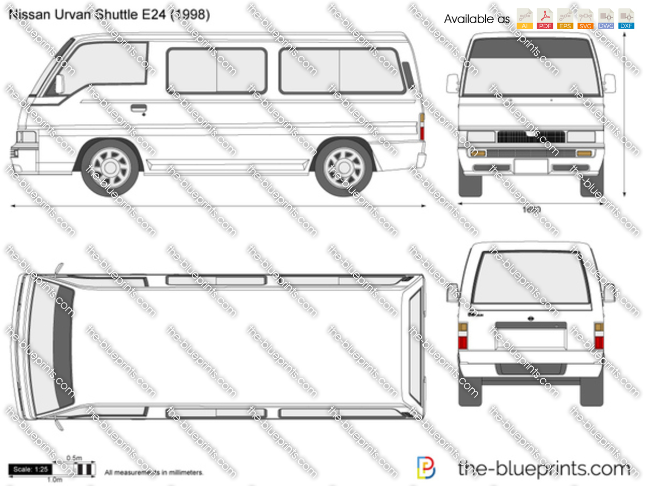 Nissan Urvan Shuttle E24