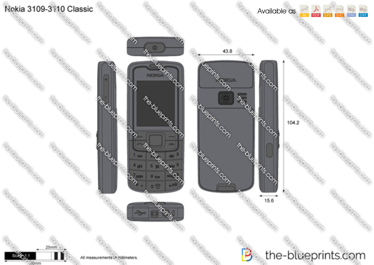 Nokia 3109-3110 Classic